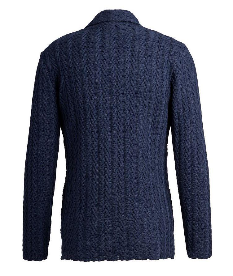 Virgin Wool Sweater Jacket  image 1