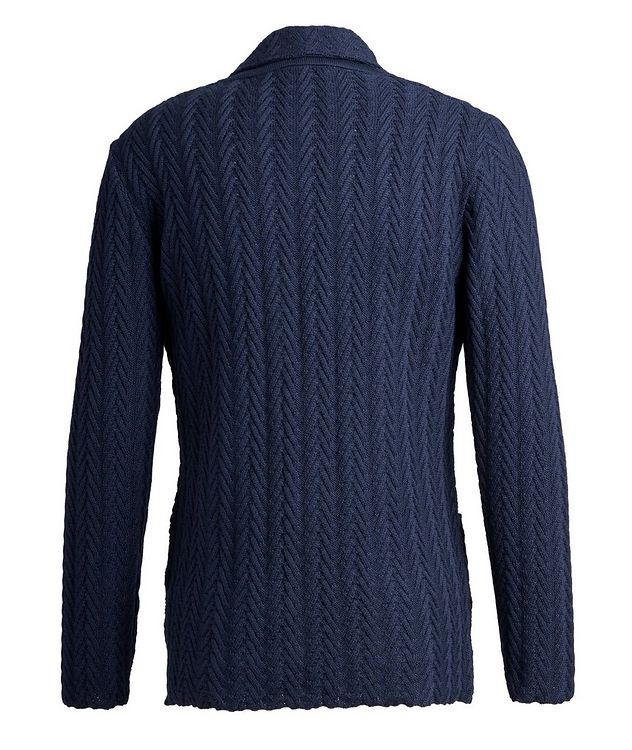 Virgin Wool Sweater Jacket  picture 2