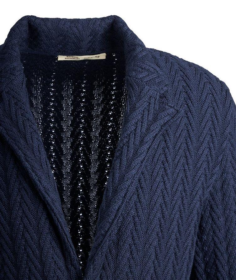 Virgin Wool Sweater Jacket  image 2
