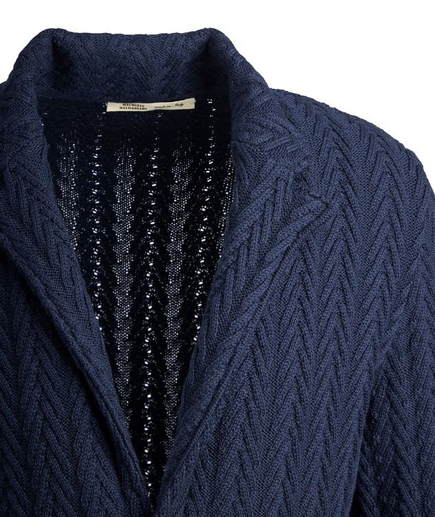 Virgin Wool Sweater Jacket  picture 3