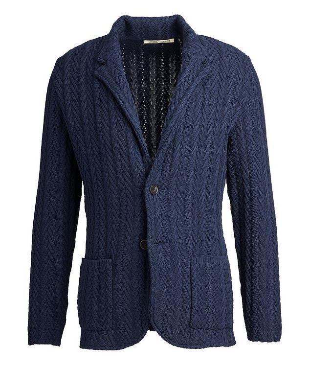 Virgin Wool Sweater Jacket  picture 1