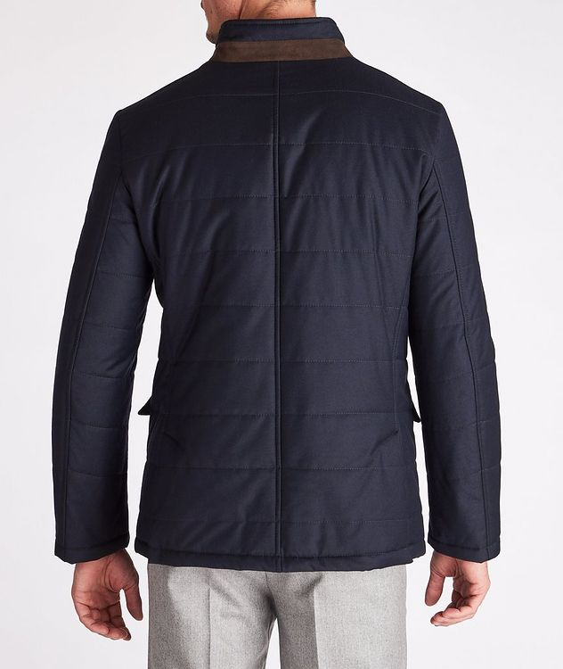 Clima System Quilted Wool-Silk Coat picture 3