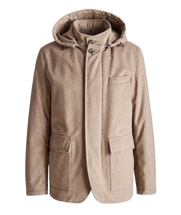 Padova Green Storm System Wool Jacket picture 1