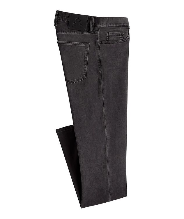 Pipe Cosy Stretch-Cotton Jeans picture 1
