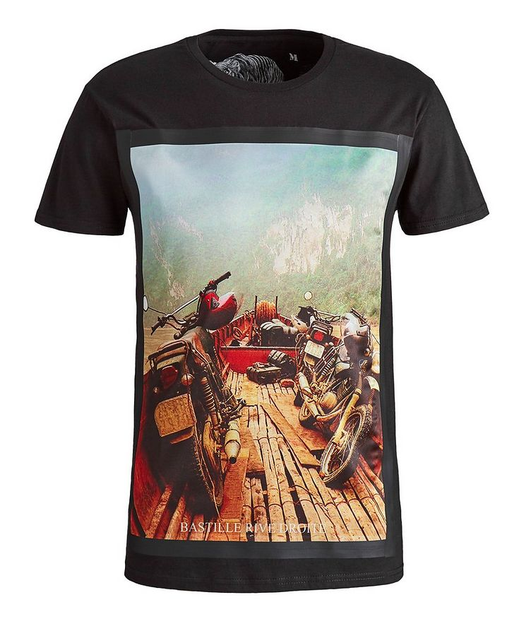 Mekong Print Cotton T-Shirt image 0