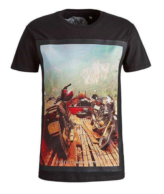 Mekong Print Cotton T-Shirt picture 1
