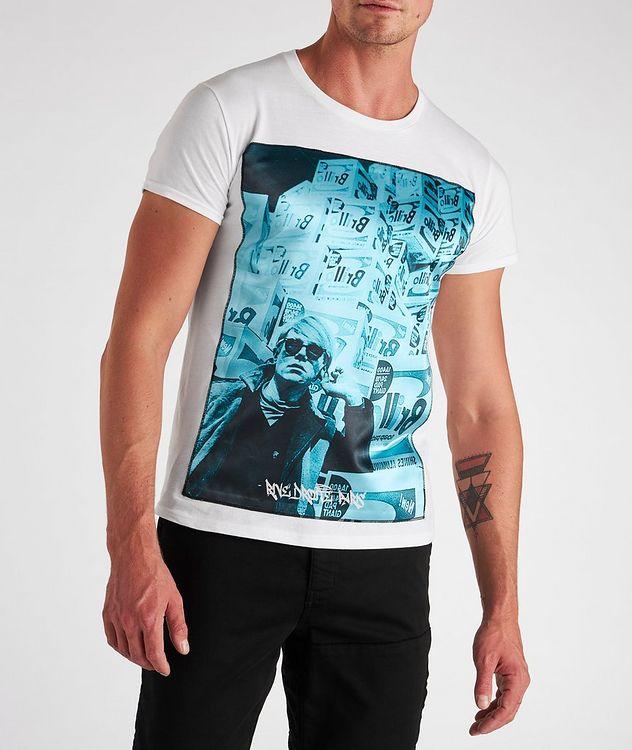 Boxes Print Cotton T-Shirt picture 2