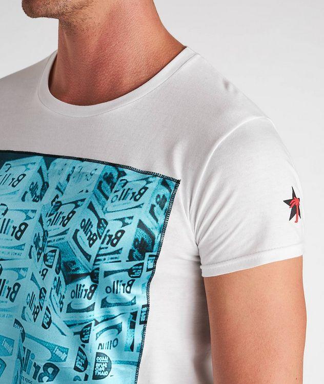 Boxes Print Cotton T-Shirt picture 3