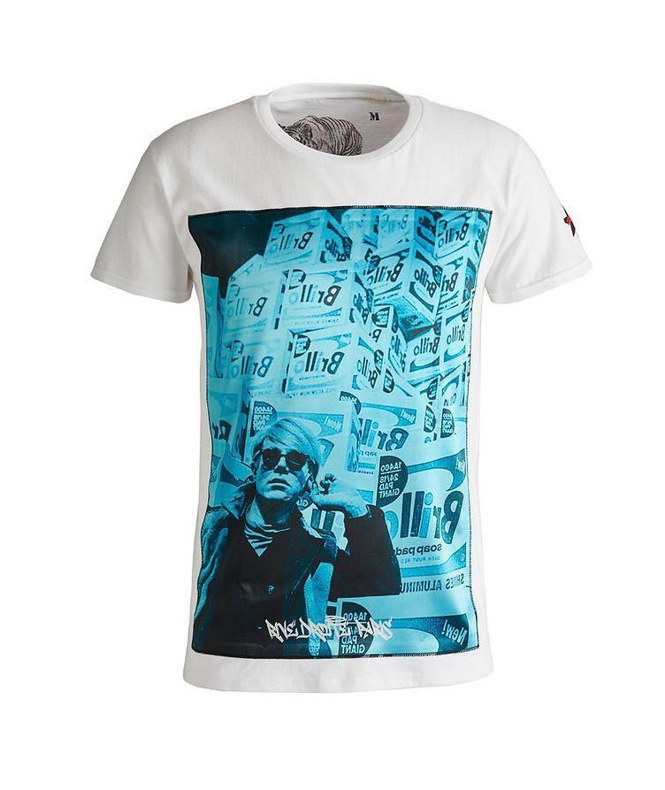 Boxes Print Cotton T-Shirt image 0