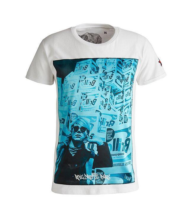 Boxes Print Cotton T-Shirt picture 1