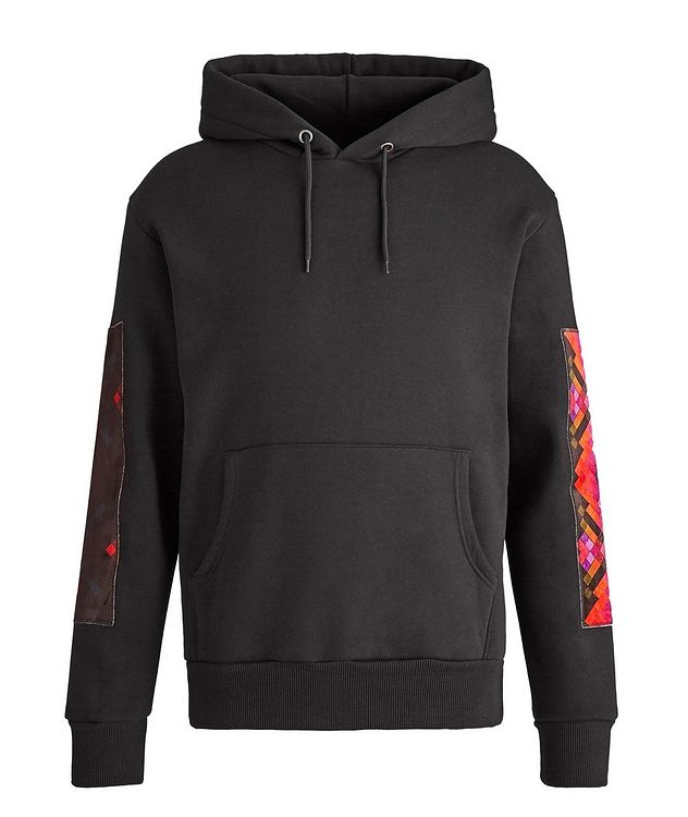 Beach Print Cotton Hoodie picture 2