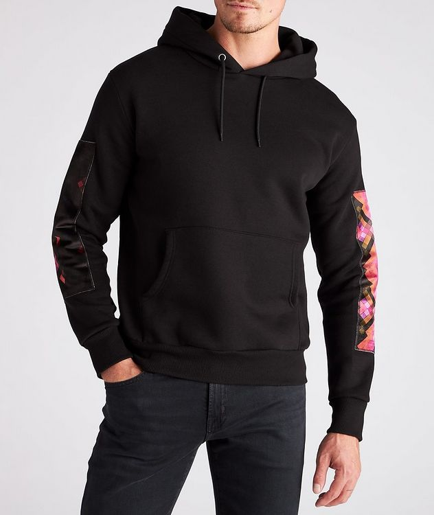 Beach Print Cotton Hoodie picture 3