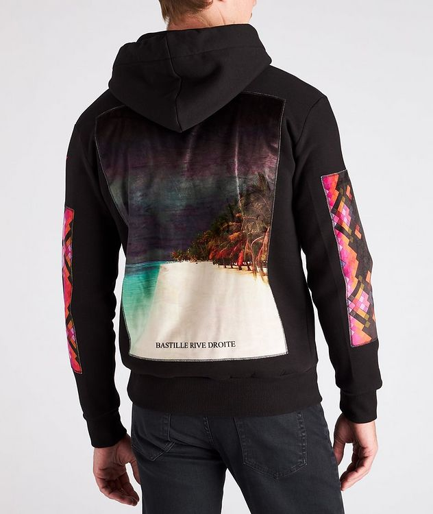 Beach Print Cotton Hoodie picture 4