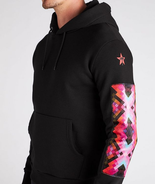 Beach Print Cotton Hoodie picture 5