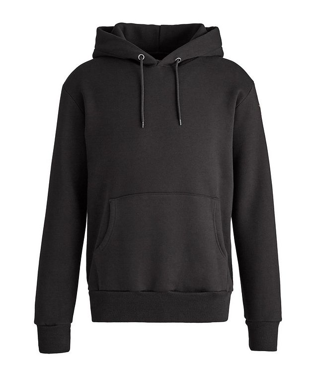 Finger Print Cotton Hoodie picture 2
