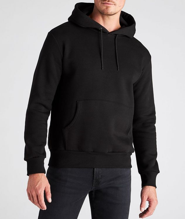 Finger Print Cotton Hoodie picture 3