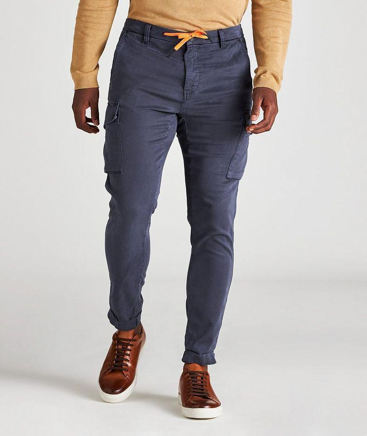 Pantalon PF en lyocell et coton à poches cargo image 1