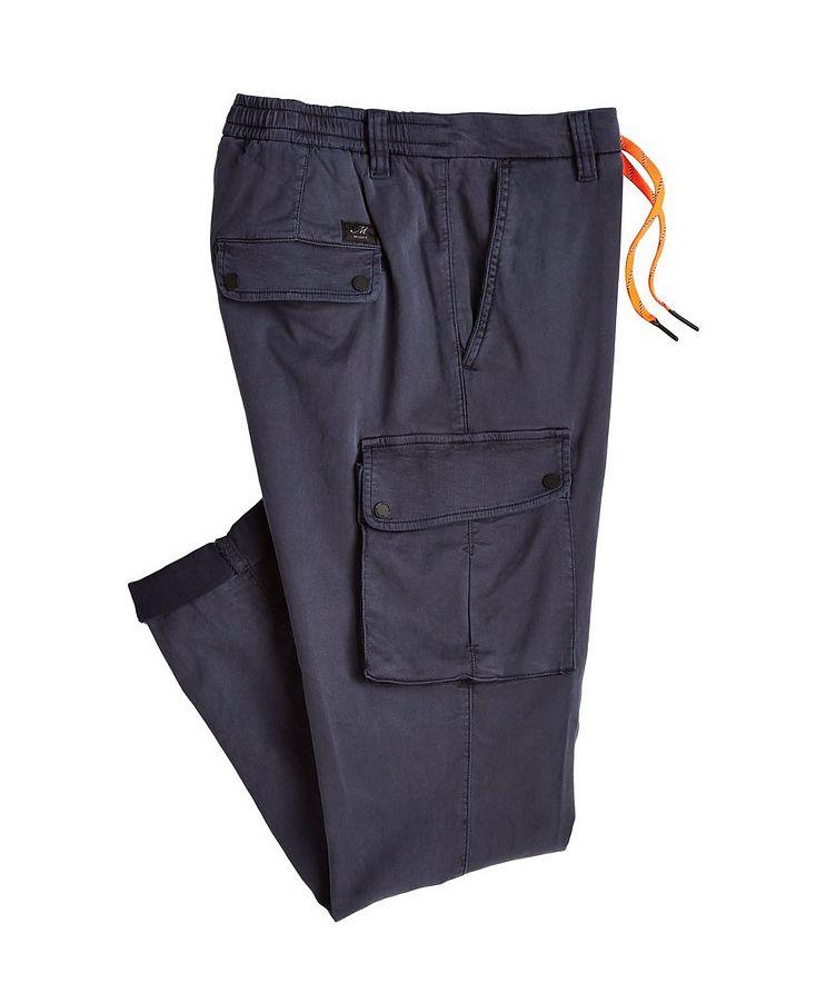 Pantalon PF en lyocell et coton à poches cargo image 0