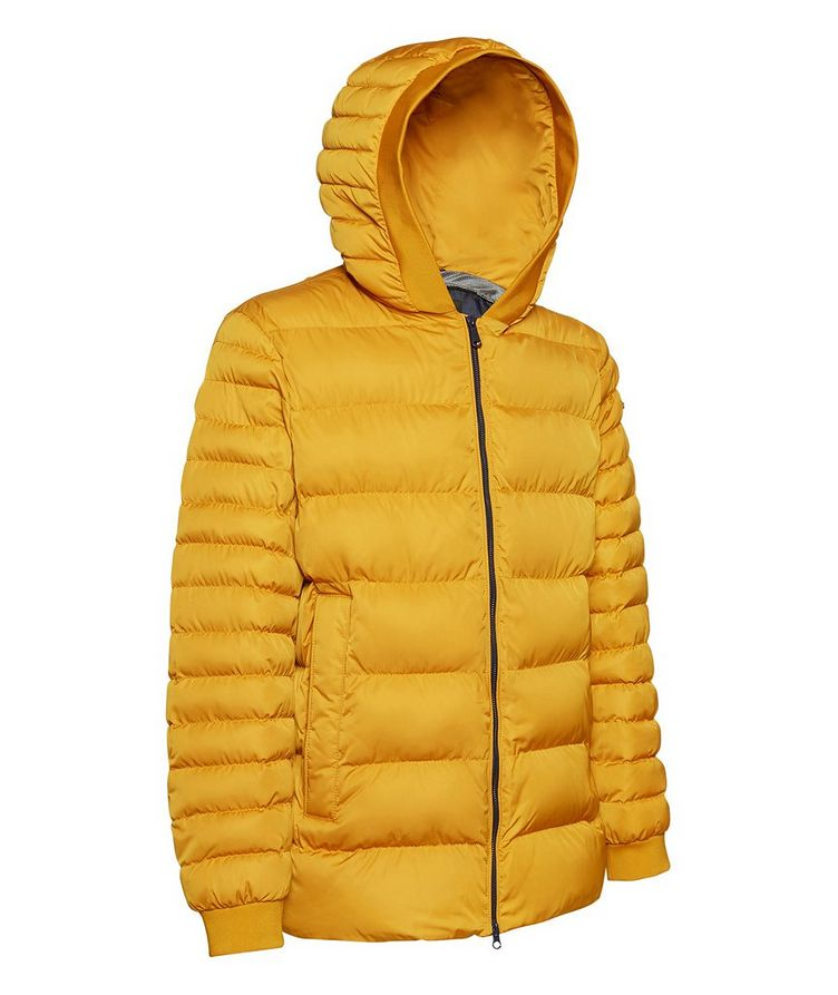 Colbyn Quilted Hooded Puffer Jacket image 2