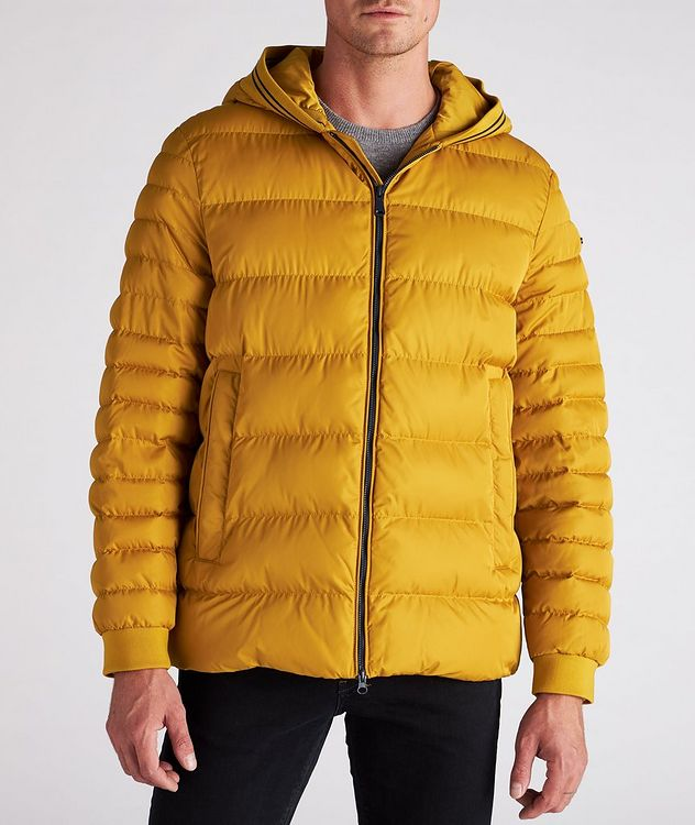 Colbyn Quilted Hooded Puffer Jacket picture 4