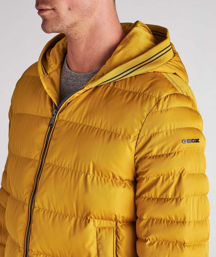 Colbyn Quilted Hooded Puffer Jacket image 5