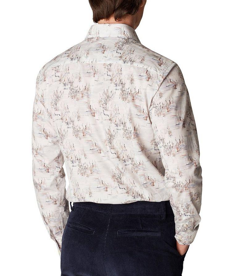 Slim Fit Crane Print Shirt image 2