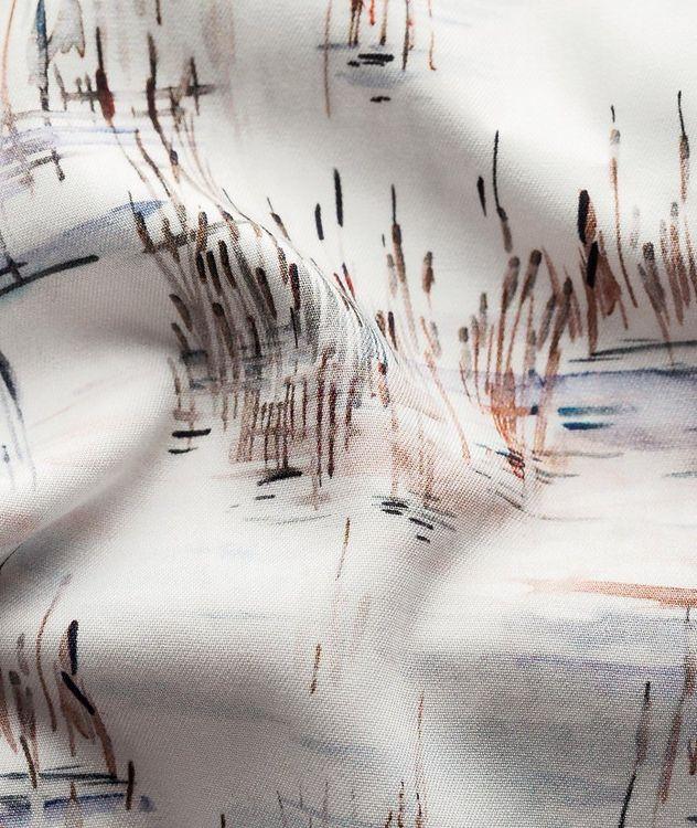 Slim Fit Crane Print Shirt picture 6