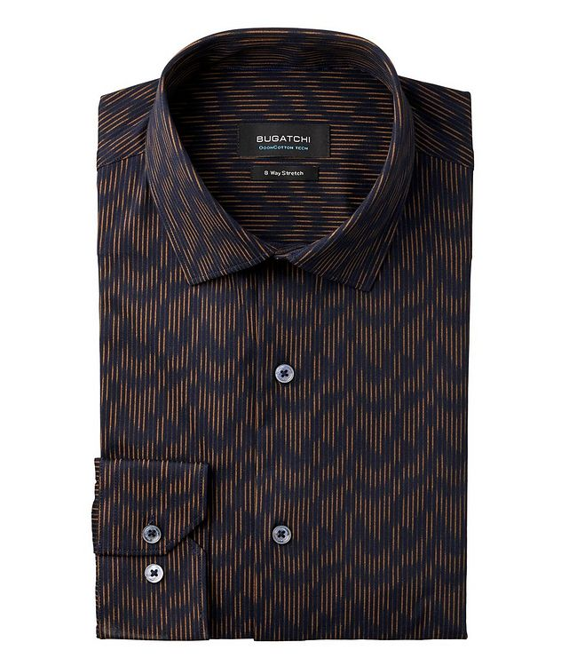 Zig-Zag Printed OoohCotton Tech Shirt picture 1