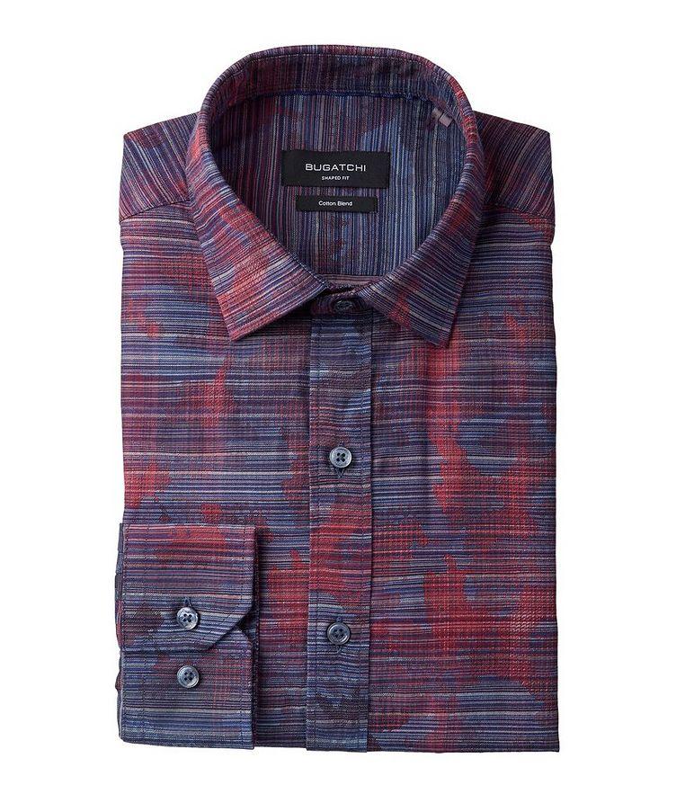 Striped Cotton-Blend Sport Shirt image 0