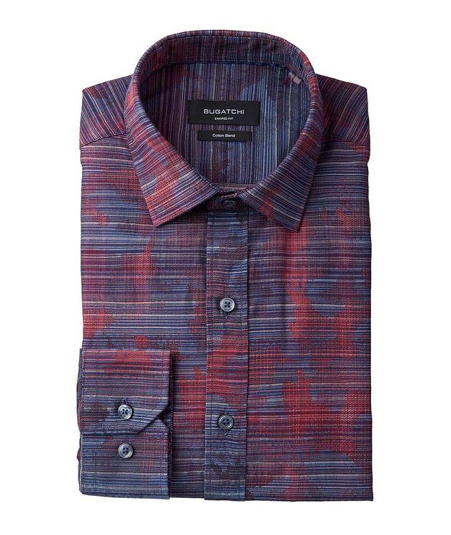 Striped Cotton-Blend Sport Shirt picture 1