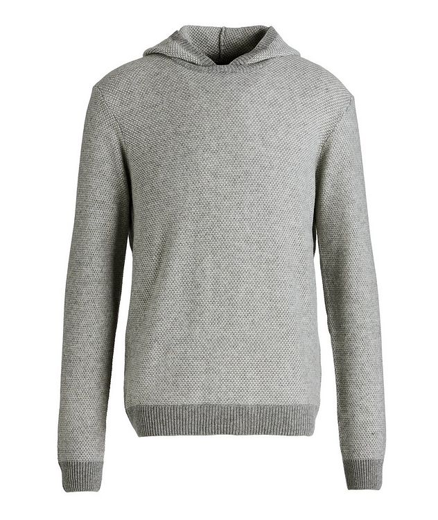 Hybrid Cashmere-Wool Hoodie picture 1