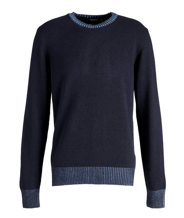 Wool-Blend Crew Neck Sweater picture 1