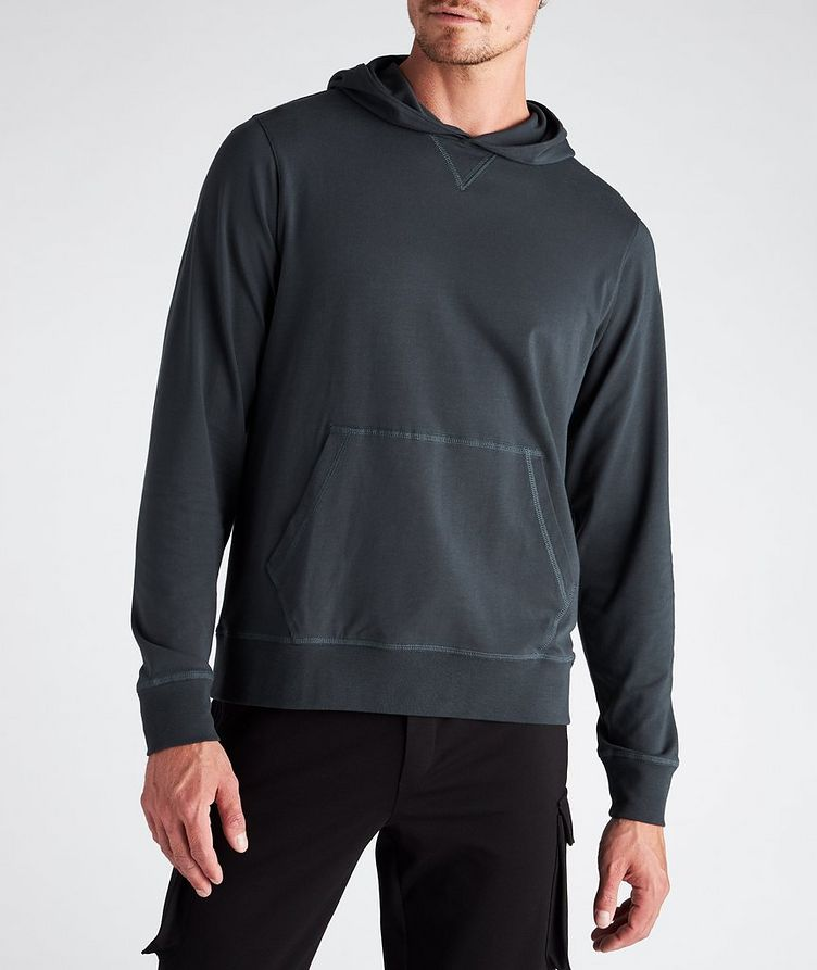 Stretch-Cotton Hoodie image 1