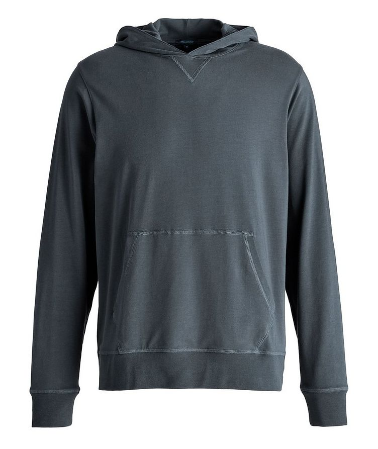 Stretch-Cotton Hoodie image 0