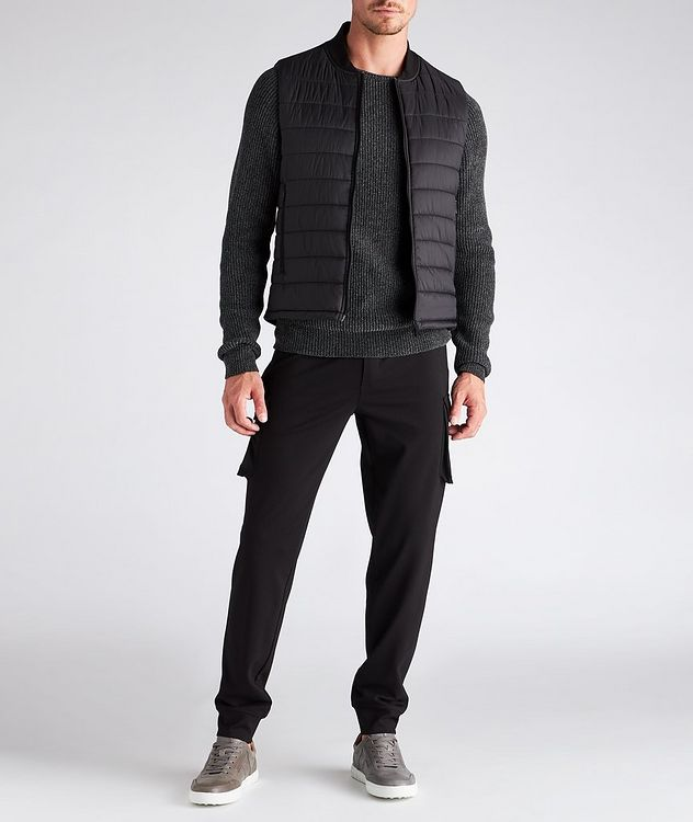 Drawstring Stretch Cargo Joggers picture 5