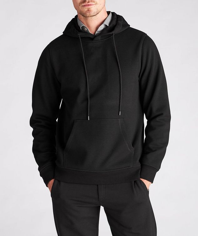 Faux Fur-Lined Side Zip Hoodie picture 2