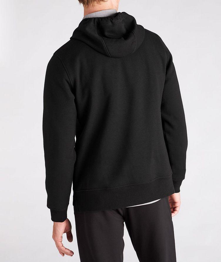 Faux Fur-Lined Side Zip Hoodie image 2