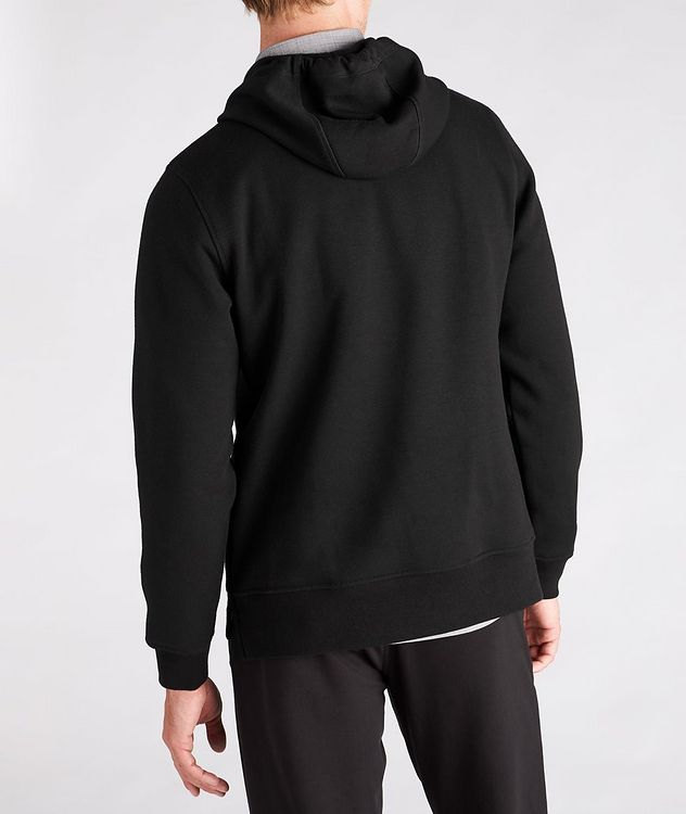 Faux Fur-Lined Side Zip Hoodie picture 3