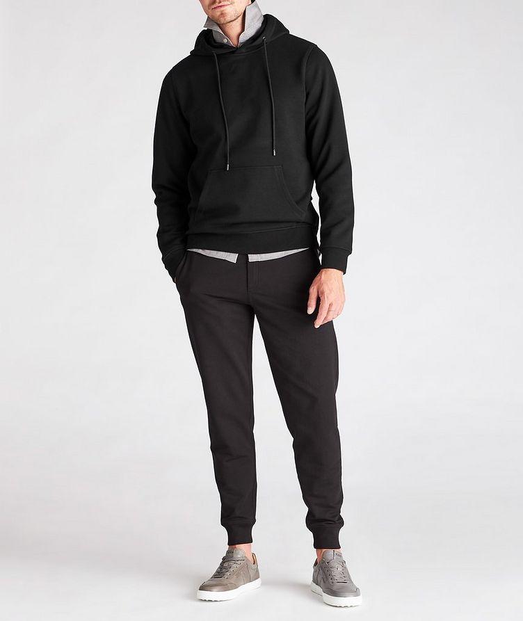 Faux Fur-Lined Side Zip Hoodie image 5