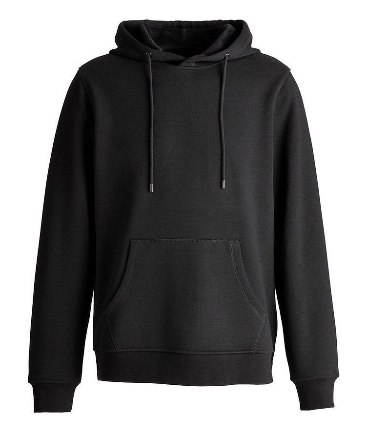 Faux Fur-Lined Side Zip Hoodie image 0
