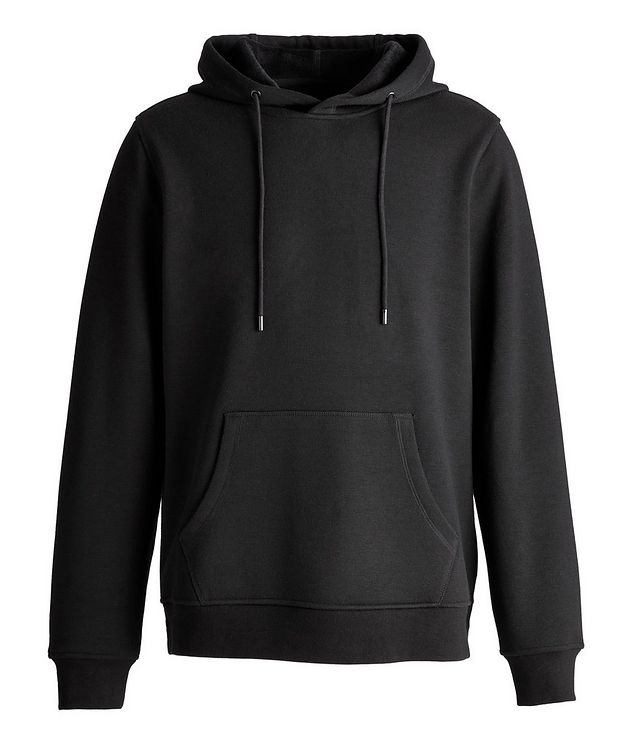 Faux Fur-Lined Side Zip Hoodie picture 1