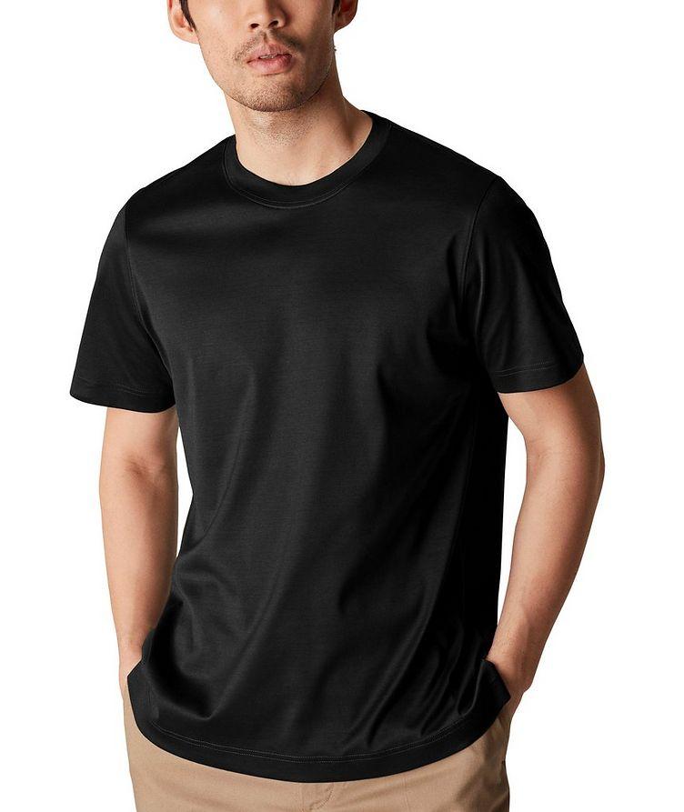 T-shirt en jersey de coupe amincie image 1