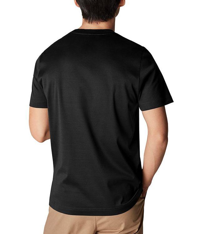 T-shirt en jersey de coupe amincie picture 3