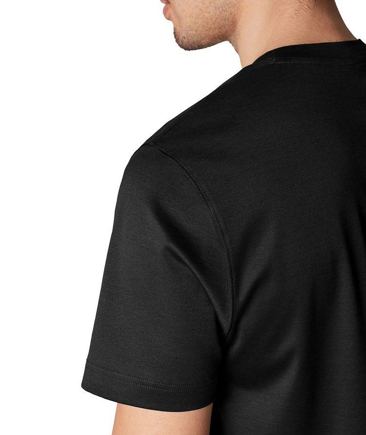 T-shirt en jersey de coupe amincie image 3