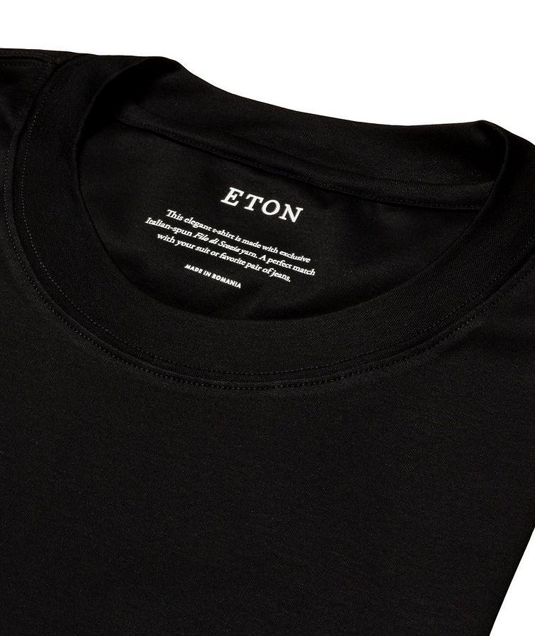 T-shirt en jersey de coupe amincie image 4