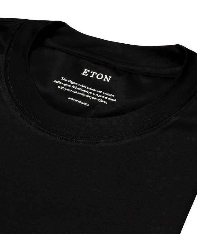 T-shirt en jersey de coupe amincie picture 5