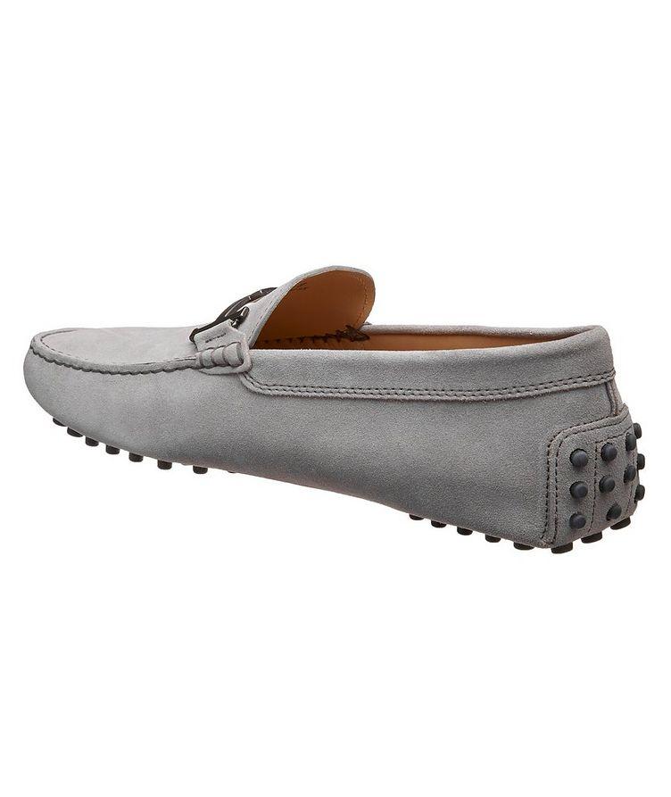 Gommino Doppia T Piatta Suede Loafers image 1