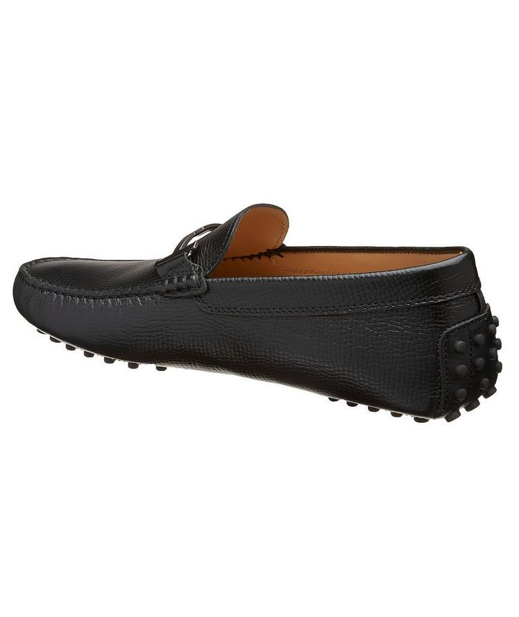 Gommino Doppia T Piatta Leather Loafers image 1