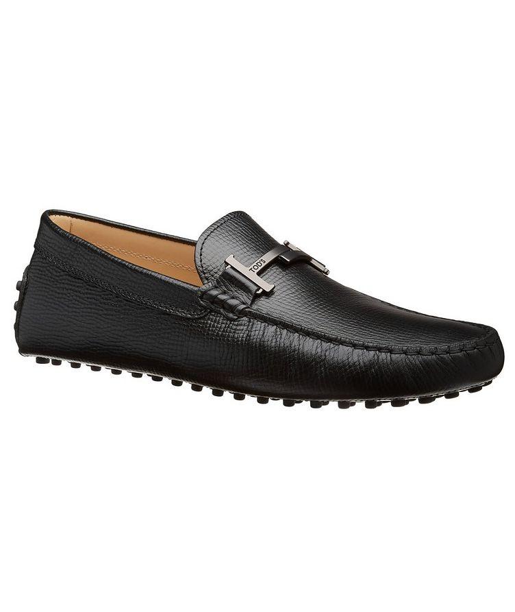 Gommino Doppia T Piatta Leather Loafers image 0