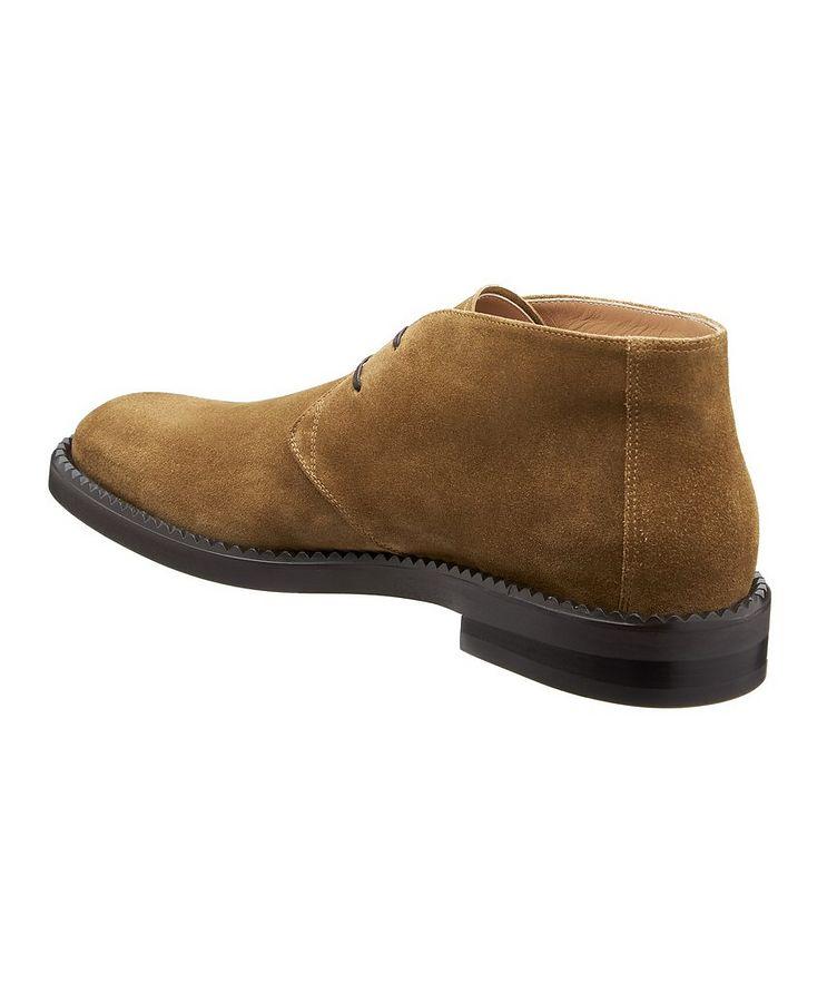 Narrow Suede Chukka Boots image 1